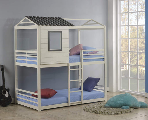 Gladys Twin over Twin Bunk Bed