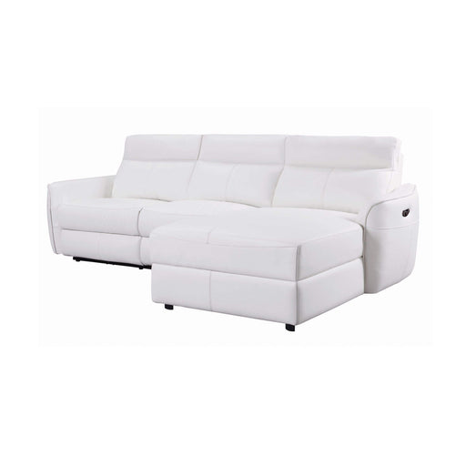 Harbor Power Recliner Sectional with Power Headrests