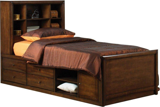 Kipton Twin Bookcase Bed