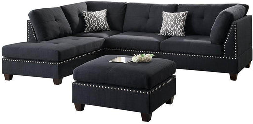 Kyle Sectional Sofa and Ottoman