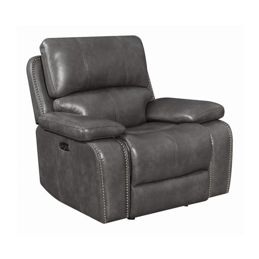 Mensch Power Glider Recliner with Power Headrest
