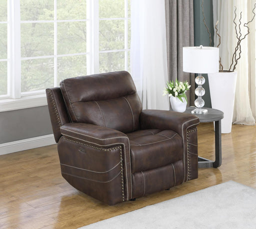 Orilla Power Glider Recliner with Power Headrest