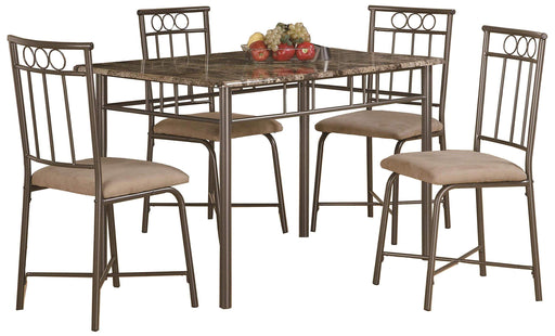 Pinyon Dining Table and Chair Set