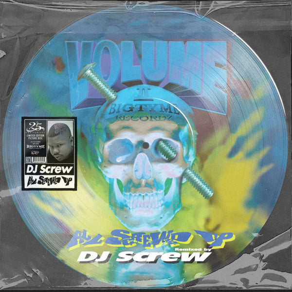 ×××ONE LP PER ADDRESS×××  DJ Screw - All Screwed Up 25th Anniversary (Picture Disc)