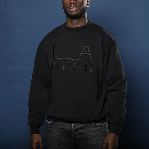 LA Original Black Crew Sweatshirt