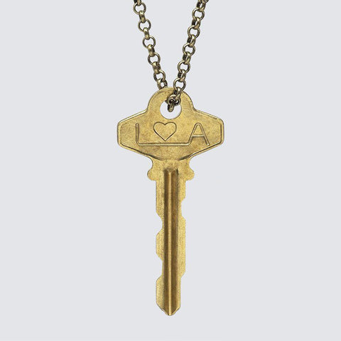 Long Classic Key Necklace
