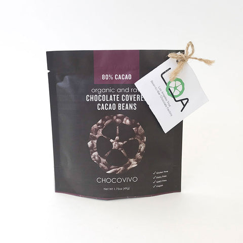 Chocolate Covered Cacao Beans 80%