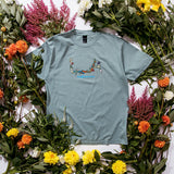 T-Shirt - Atlantic Green