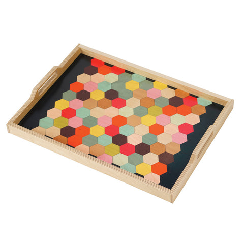 Honeycomb Serving Tray