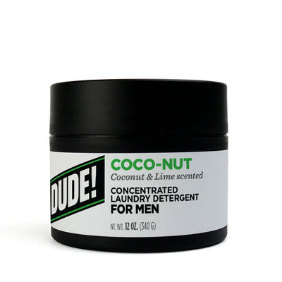 12 oz.  Dude Detergent - Coco-Nut