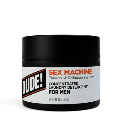 12 oz.  Dude Detergent - Sex Machine