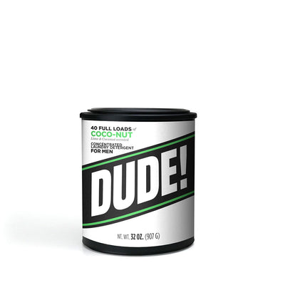 32 oz.  Dude Detergent - Coco-Nut