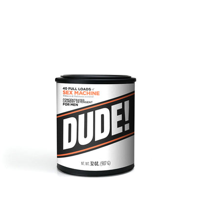 32 oz.  Dude Detergent - Sex Machine