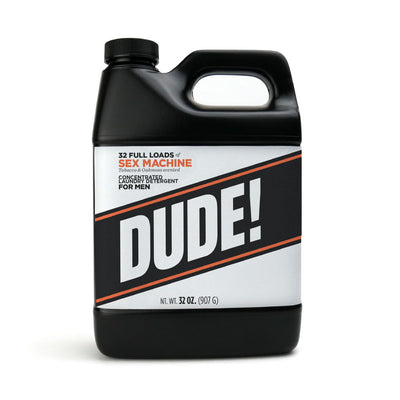 32 oz.  Dude Detergent - Liquid Formula - Sex Machine