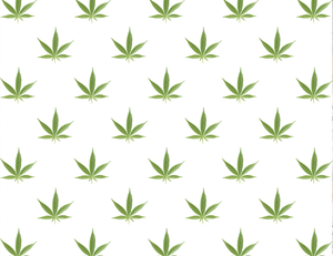 Weed Leaf Gift Wrap Paper