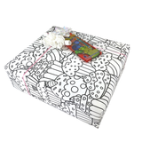 Coloring Gift Wrapping Paper