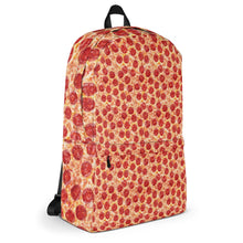 Load image into Gallery viewer, All Over Pizza Print Backpack