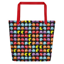Load image into Gallery viewer, PacMan Beach Bag
