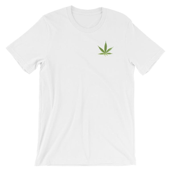 Single Weed Leaf T-Shirt