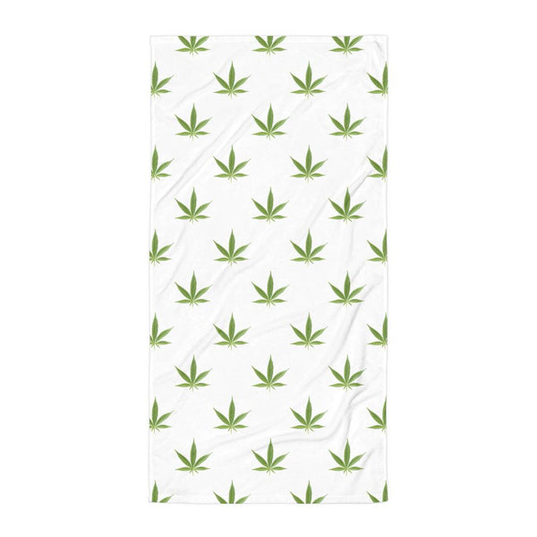 Weed Leaf Towel