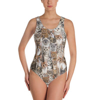 Kitten One-Piece Swimsuit