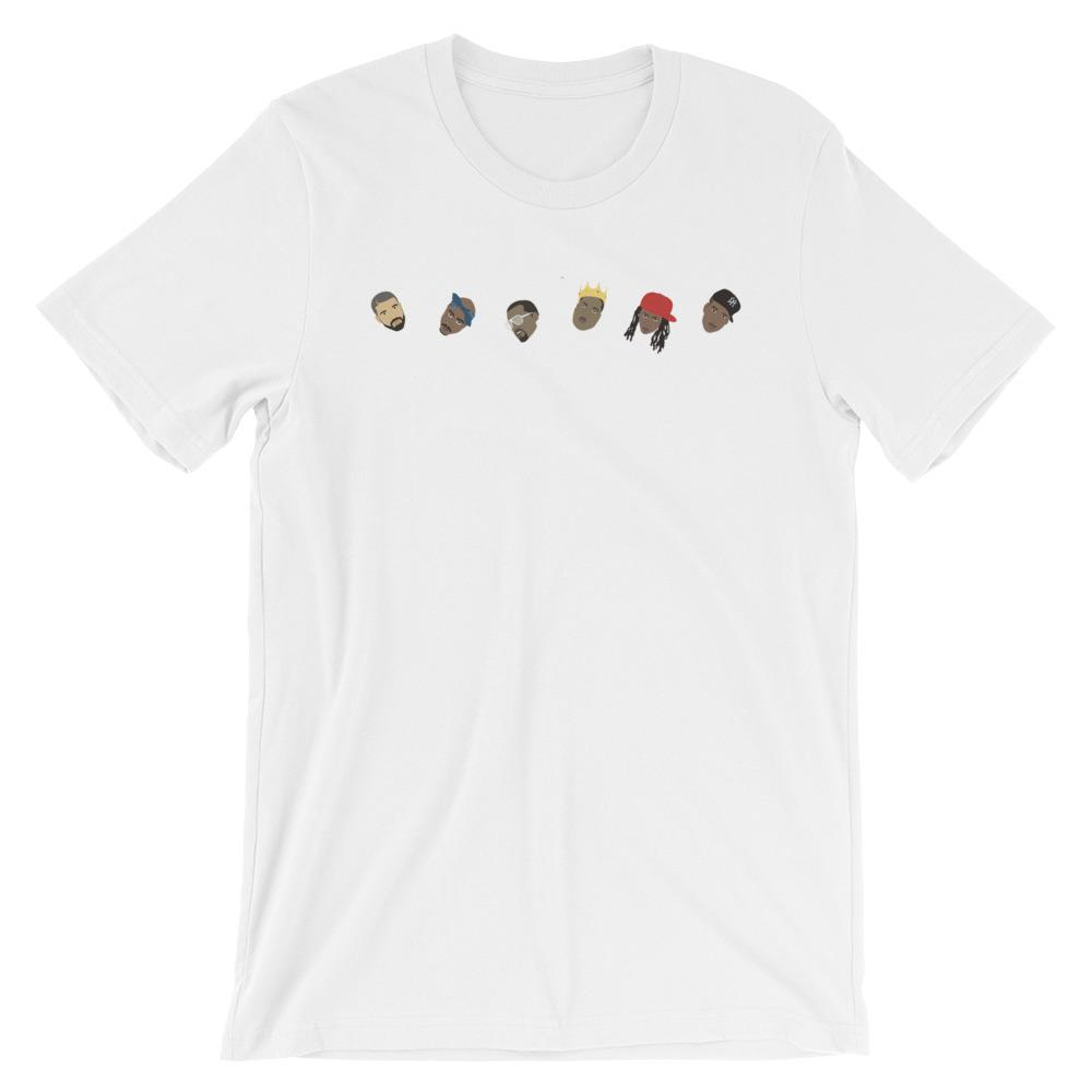 Line of Rappers T-Shirt