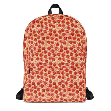 All Over Pizza Print Backpack