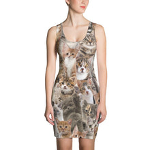 Load image into Gallery viewer, Kitten Bodycon Dress