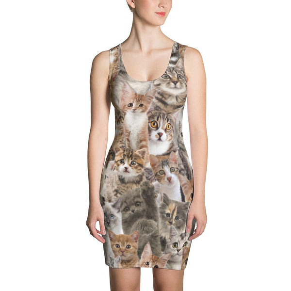 Kitten Bodycon Dress