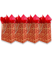 4 Pack Pizza Gift Bags