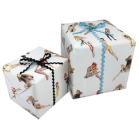 Pin-up Gift Wrapping Paper