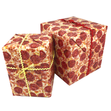 Load image into Gallery viewer, Pizza Gift Wrapping Paper