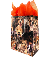 4 Pack Puppy Gift Bags