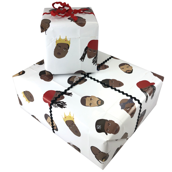 Rapper Gift Wrapping Paper