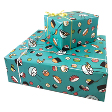 Load image into Gallery viewer, Sushi Gift Wrapping Paper