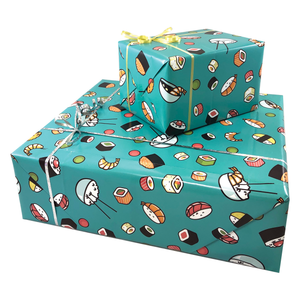 Sushi Gift Wrapping Paper
