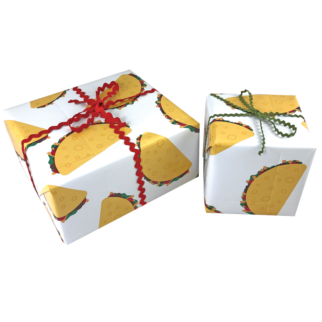 Taco Gift Wrapping Paper