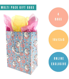 4 Pack Unicorn Gift Bags