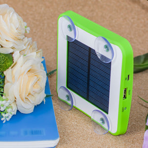 Portable Solar Phone Charger 5200mah with Suction - EverythingTechGear
