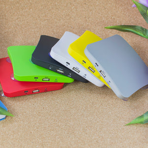 Portable Solar Phone Charger 5200mah with Suction