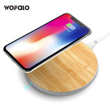 Bamboo Qi Wireless Charging Pad - EverythingTechGear