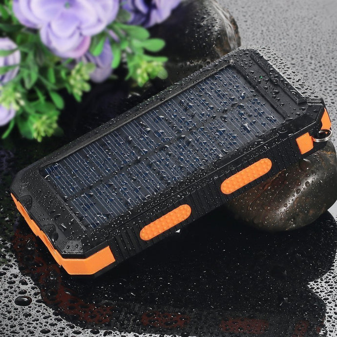 Waterproof Solar Powerbank 20000mah