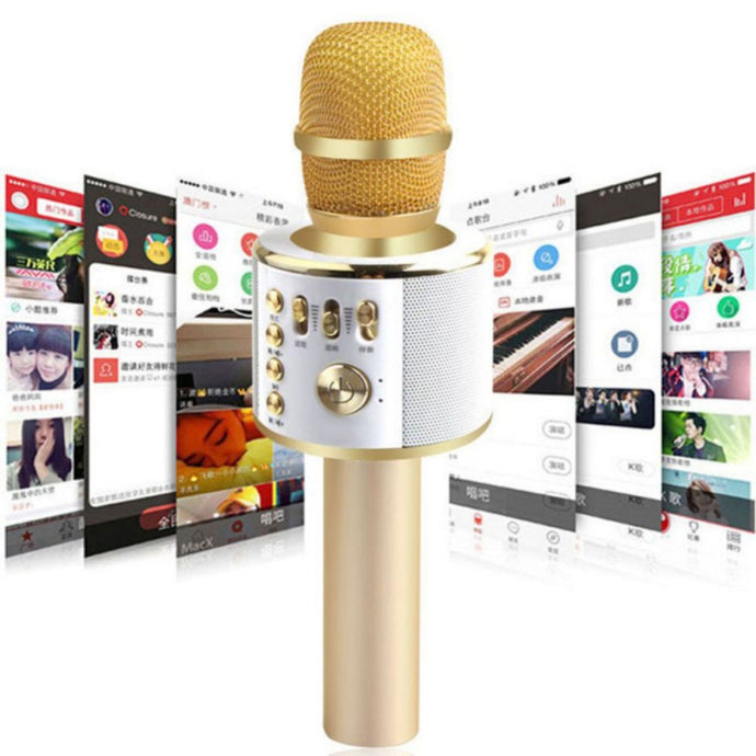 Wireless Bluetooth Karaoke Microphone - EverythingTechGear