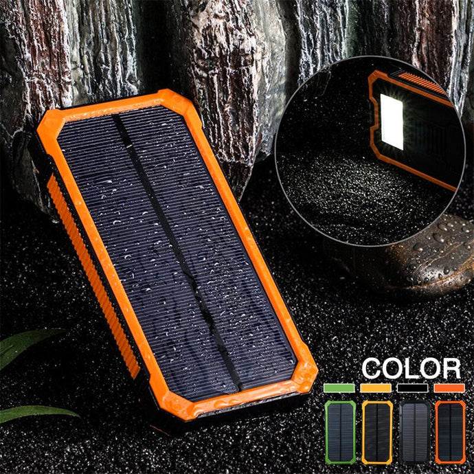 Waterproof Solar Powerbank 30000mah - EverythingTechGear