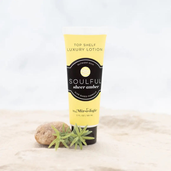 Top Shelf Luxury Lotion - Soulful (sheer amber)