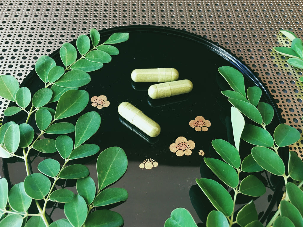 """Green Flash"" Moringa Capsules - 90"