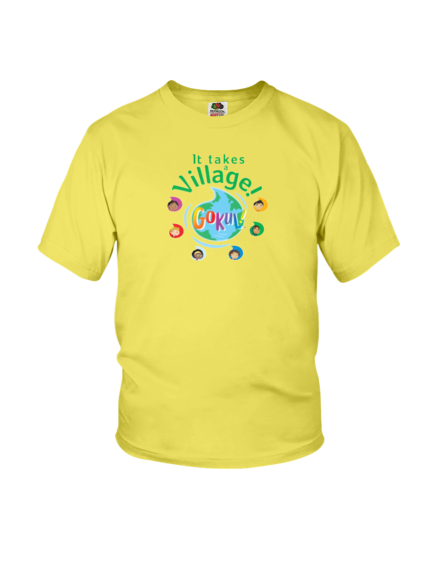 It Takes a Village! KIDS T-shirt (More Colors Available)