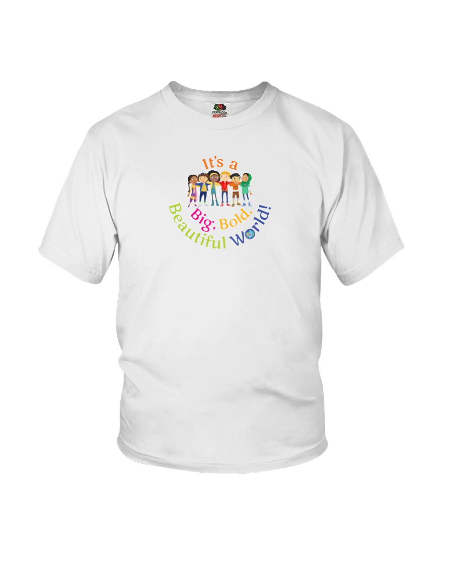 It's a Big, Bold, Beautiful World! KIDS T-shirt (More Colors Available)
