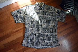 TIKI HARLEY BUTTON UP