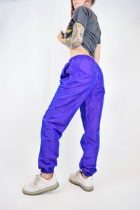 80s HOLOGRAPHIC JOGGERS - SMALL